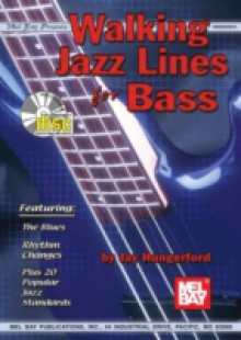 Обложка книги  - Walking Jazz Lines for Bass