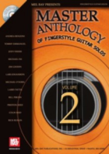 Обложка книги  - Master Anthology of Fingerstyle Guitar Solos, Volume 2
