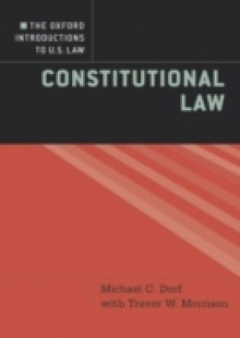 Обложка книги  - Oxford Introductions to U.S. Law: Constitutional Law