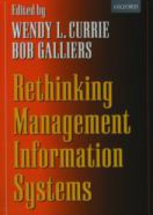 Обложка книги  - Rethinking Management Information Systems: An Interdisciplinary Perspective