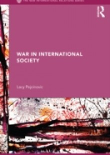 Обложка книги  - War in International Society