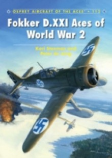 Обложка книги  - Fokker D.XXI Aces of World War 2