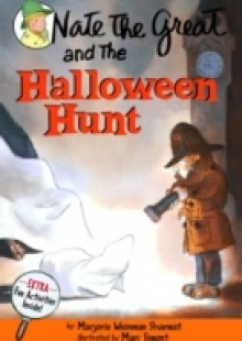 Обложка книги  - Nate the Great and the Halloween Hunt