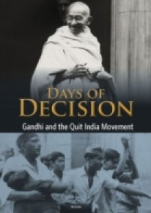 Обложка книги  - Gandhi and the Quit India Movement