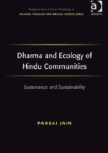 Обложка книги  - Dharma and Ecology of Hindu Communities