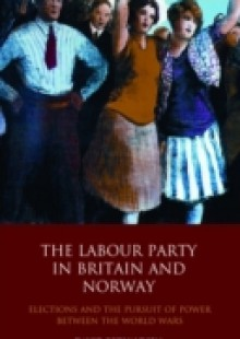 Обложка книги  - Labour Party in Britain and Norway, The
