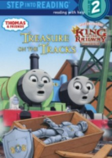 Обложка книги  - Treasure on the Tracks (Thomas & Friends)