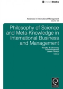 Обложка книги  - Philosophy of Science and Meta-Knowledge in International Business and Management