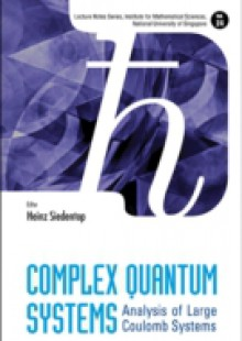 Обложка книги  - Complex Quantum Systems: Analysis Of Large Coulomb Systems