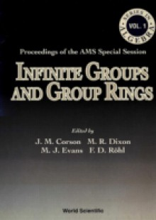 Обложка книги  - Infinite Groups And Group Rings – Proceedings Of The Ams Special Session