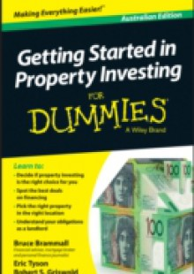 Обложка книги  - Getting Started in Property Investment For Dummies – Australia