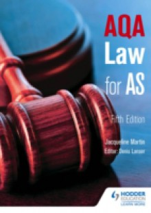 Обложка книги  - AQA Law for AS Fifth Edition