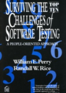 Обложка книги  - Surviving the Top Ten Challenges of Software Testing