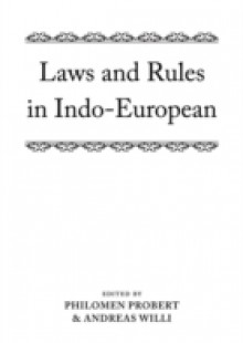 Обложка книги  - Laws and Rules in Indo-European
