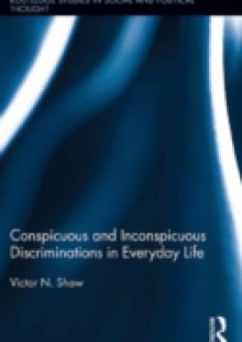 Обложка книги  - Conspicuous and Inconspicuous Discriminations in Everyday Life