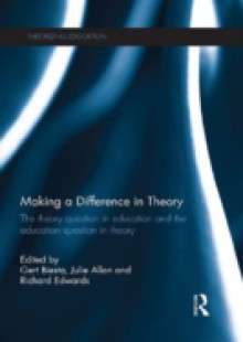 Обложка книги  - Making a Difference in Theory