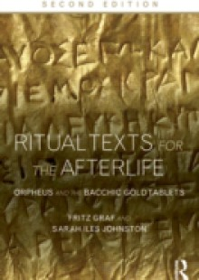 Обложка книги  - Ritual Texts for the Afterlife