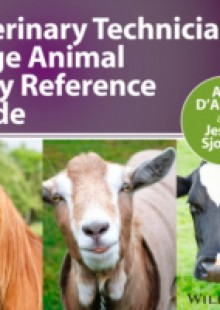 Обложка книги  - Veterinary Technician's Large Animal Daily Reference Guide