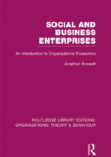 Обложка книги  - Social and Business Enterprises (RLE: Organizations)