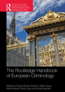 Обложка книги  - Routledge Handbook of European Criminology