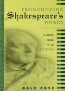 Обложка книги  - Pronouncing Shakespeare's Words