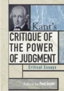 Обложка книги  - Kant's Critique of the Power of Judgment