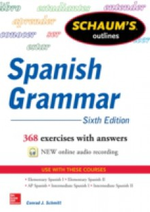 Обложка книги  - Schaum's Outline of Spanish Grammar, 6th Edition