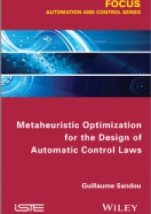 Обложка книги  - Metaheuristic Optimization for the Design of Automatic Control Laws