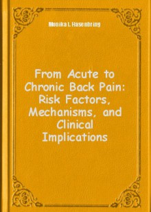 Обложка книги  - From Acute to Chronic Back Pain: Risk Factors, Mechanisms, and Clinical Implications
