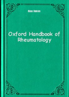 Обложка книги  - Oxford Handbook of Rheumatology