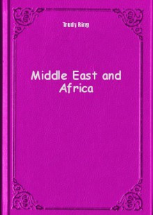 Обложка книги  - Middle East and Africa