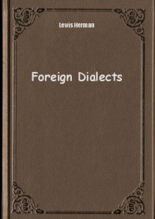 Обложка книги  - Foreign Dialects