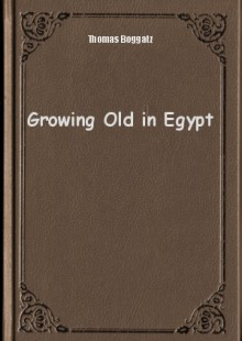 Обложка книги  - Growing Old in Egypt
