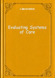 Обложка книги  - Evaluating Systems of Care