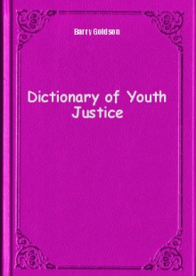 Обложка книги  - Dictionary of Youth Justice