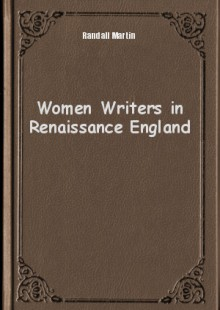 Обложка книги  - Women Writers in Renaissance England