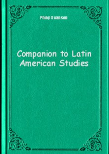 Обложка книги  - Companion to Latin American Studies