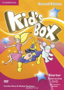 Обложка книги  - Kid's Box: Starter: Interactive DVD with Teacher's Booklet (аудиокурс на DVD-ROM)
