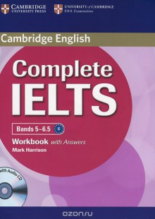 Обложка книги  - Complete IELTS Bands 5-6.5: Workbook with answers (+ CD)